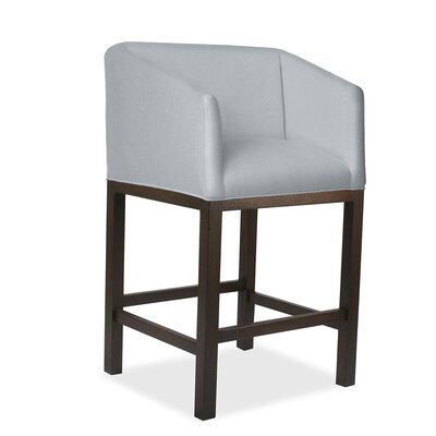 Marion 30 Bar Stool Upholstery: Gray