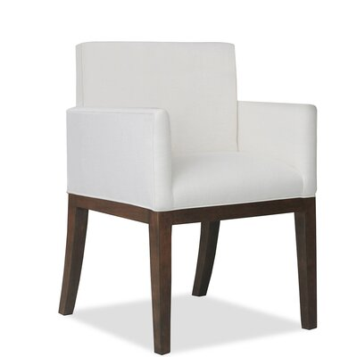 Glenn Arm Chair Upholstery: White