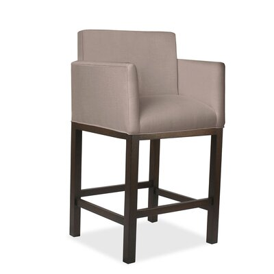 Glenn 30 Bar Stool Upholstery: Brown