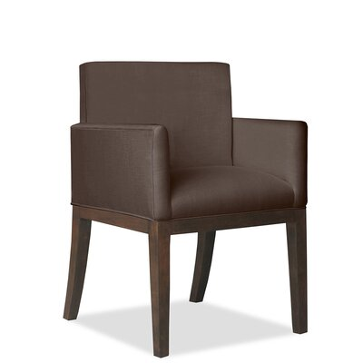 Hanshaw Arm Chair Upholstery: Coffee