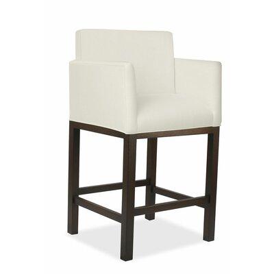 Glenn 30 Bar Stool Upholstery: Sand