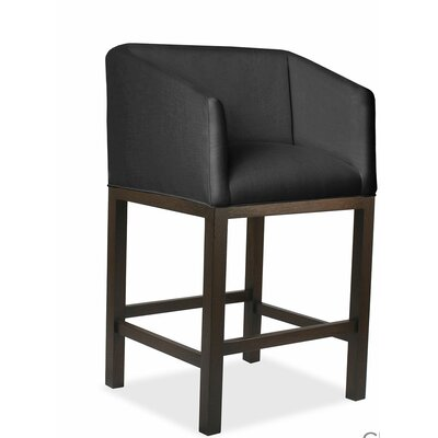 Marion 30 Bar Stool Upholstery: Charcoal