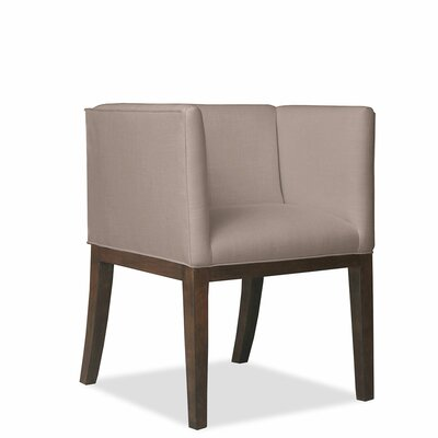 Vernon Arm Chair Upholstery: Brown