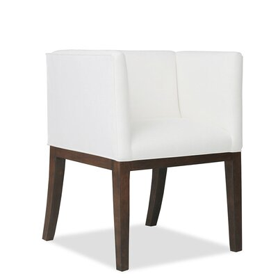 Vernon Arm Chair Upholstery: White