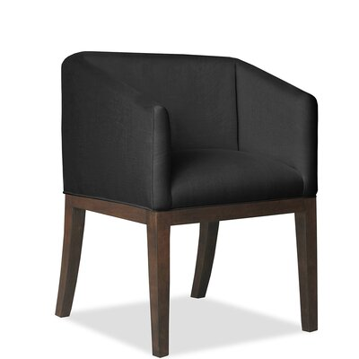 Harber Arm Chair Upholstery: Charcoal