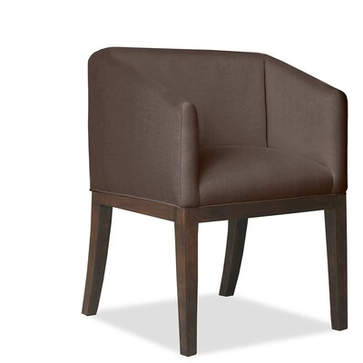 Harber Arm Chair Upholstery: Coffee