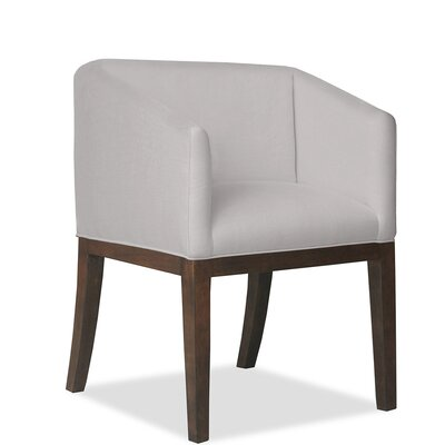 Marion Arm Chair Upholstery: Linen