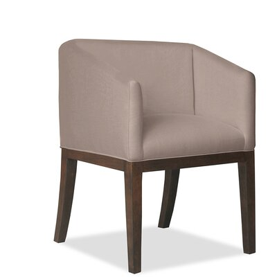 Marion Arm Chair Upholstery: Brown