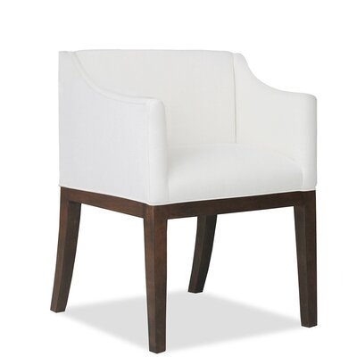 Luther Arm Chair Upholstery: White