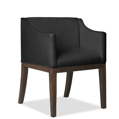 Luther Arm Chair Upholstery: Charcoal