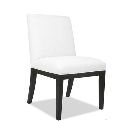 Emil Parsons Chair Upholstery: White