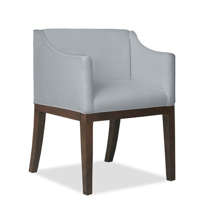 Luther Arm Chair Upholstery: Gray