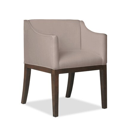 Luther Arm Chair Upholstery: Brown