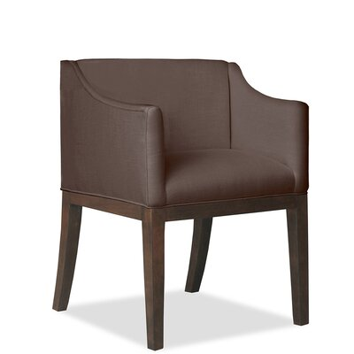 Luther Arm Chair Upholstery: Coffee