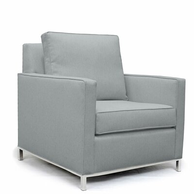 Audrey Armchair Upholstery: Gray