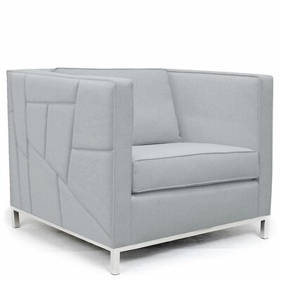 Lawrence Convertible Chair Upholstery: Gray