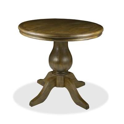 Marseille Pub Table Finish: Dry Smoke, Size: 42 H x 48 L x 48 W
