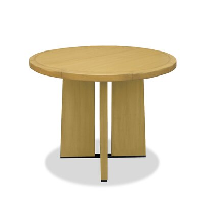 Ninette Pub Table Color: Dry Maple, Size: 42 H x 48 L x 48 W