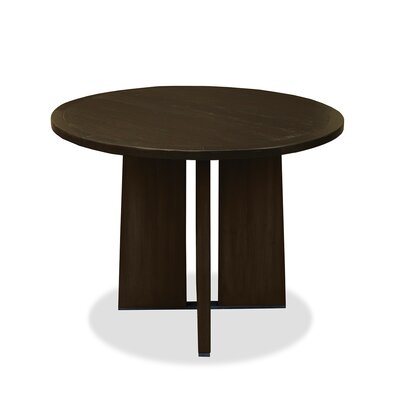 Ninette Pub Table Finish: Dry Walnut, Size: 42 H x 48 L x 48 W