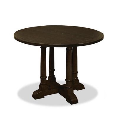 Carmel Pub Table Finish: Dry Walnut, Size: 42 H x 48 L x 48 W