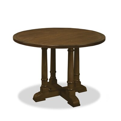 Carmel Pub Table Finish: Dry Smoke, Size: 42 H x 48 L x 48 W
