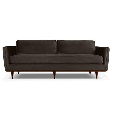 Clayton 72 Sofa Upholstery: Charcoal