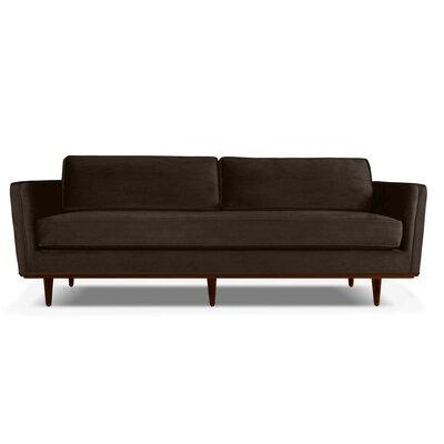 Clayton 84 Sofa Upholstery: Espresso