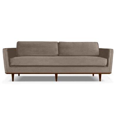 Clayton 84 Sofa Upholstery: Latte