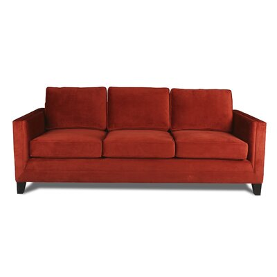Cannes 84 Sofa Upholstery: Red