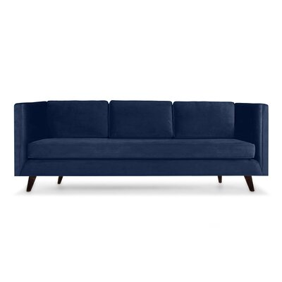 Howard 84 Sofa Upholstery: Blue