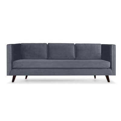 Howard 60 Sofa Upholstery: Pewter