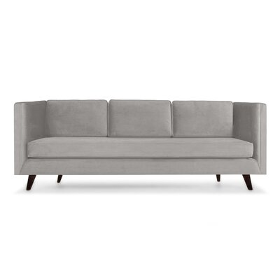 Howard 60 Sofa Upholstery: Smoke