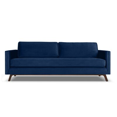 Wesley 84 Sofa Upholstery: Blue