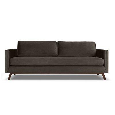 Wesley 72 Sofa Upholstery: Charcoal