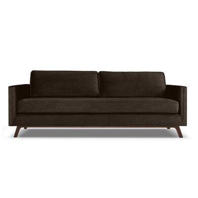 Wesley 72 Sofa Upholstery: Espresso