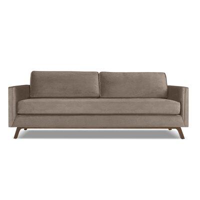 Wesley 60 Sofa Upholstery: Latte