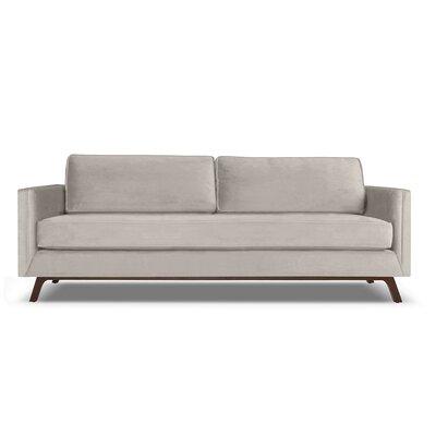 Wesley 60 Sofa Upholstery: Pearl