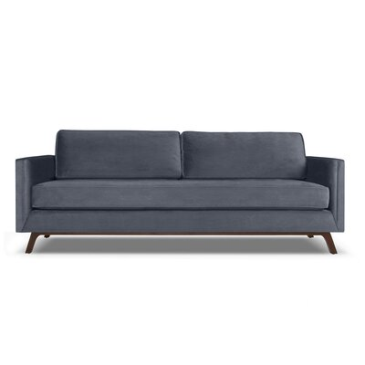 Wesley 72 Sofa Upholstery: Pewter