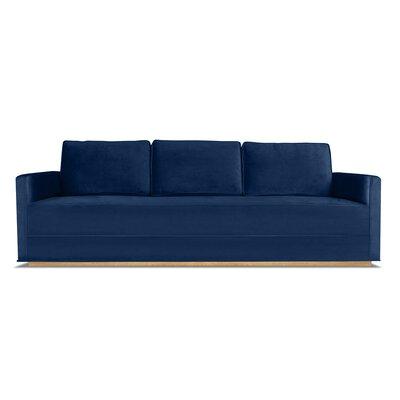 Bert 72 Sofa Upholstery: Blue