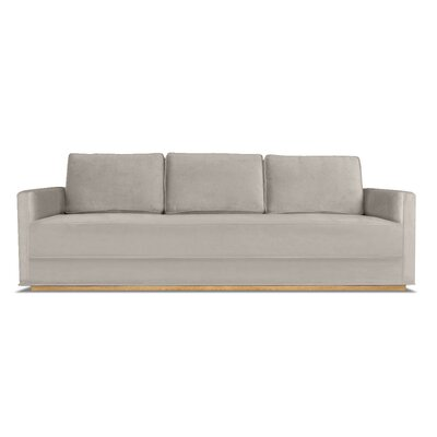 Lester 84 Sofa Upholstery: Pearl