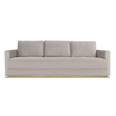 Bert 84 Sofa Upholstery: Pearl