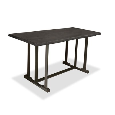 San Francisco Pub Table Top Color: Dry Gray, Size: 42 H x 60 L x 40 W