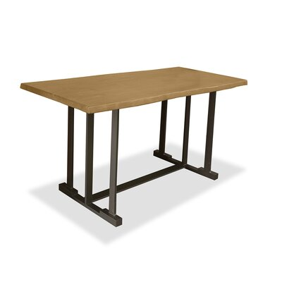 San Francisco Pub Table Top Finish: Dry Maple, Size: 42 H x 60 L x 40 W