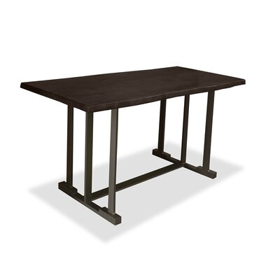 San Francisco Pub Table Top Finish: Dry Walnut, Size: 42 H x 60 L x 40 W