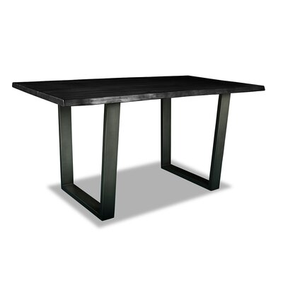 Prague Pub Table Top Finish: Dry Espresso, Size: 42 H x 60 L x 32 W