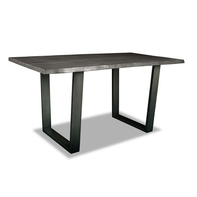 Prague Pub Table Top Finish: Dry Gray, Size: 42 H x 60 L x 40 W