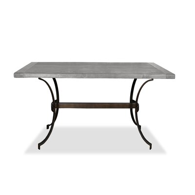 Santa Barbara Pub Table Top Finish: Dry Cement, Size: 42 H x 60 L x 40 W