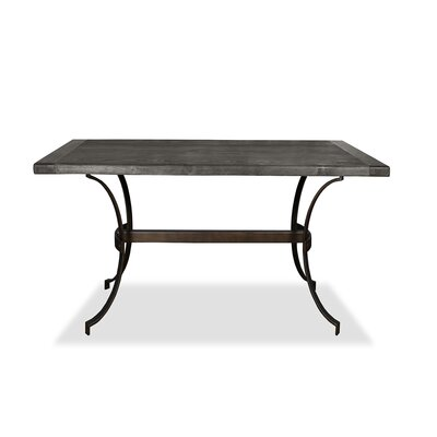Santa Barbara Pub Table Top Finish: Dry Gray, Size: 42 H x 60 L x 40 W