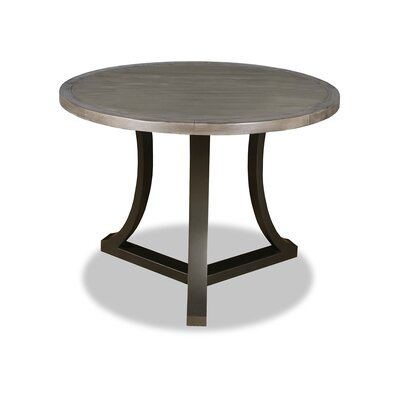 Eleonore Pub Table Top Finish: Dry Cement, Size: 42 H x 48 L x 48 W