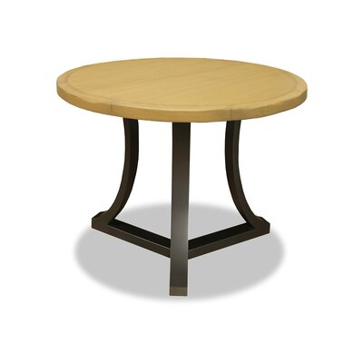Eleonore Pub Table Top Finish: Dry Maple, Size: 42 H x 48 L x 48 W